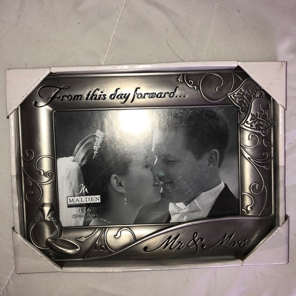 Accents From This Day Forward Mr Mrs Wedding Frame Poshmark